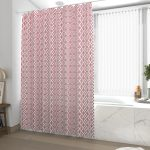 Rideau de douche et baignoire - 180x200 - Polyester - FORME ROUGE