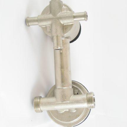 Robinet mitigeur douche mécanique avec inverseur 4 positions