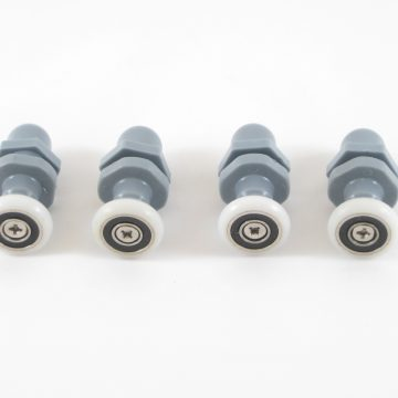 Roulette corps long diamètre 20mm (par lot de 4 roulettes).
