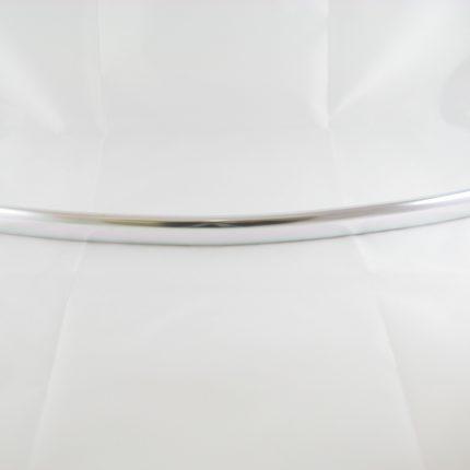Poignée arrondie en aluminium