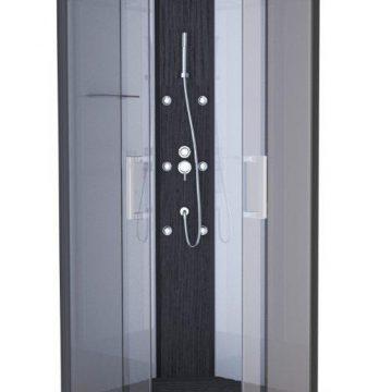 Cabine de douche CLEAR SQUARE carrée 90x90x225cm