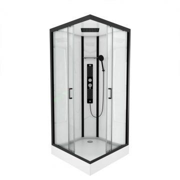 Cabine de douche carrée 90X90X215cm - FACTORY SQUARE 90