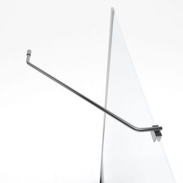 Barre de fixation d'angle pour douche a l'italienne-FREEDOM 2 ANGLE-BARRE DE FIXATION MURALE D'ANGLE