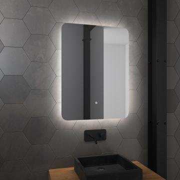 Miroir salle de bain LED auto-éclairant ATMOSPHERE 60x80cm