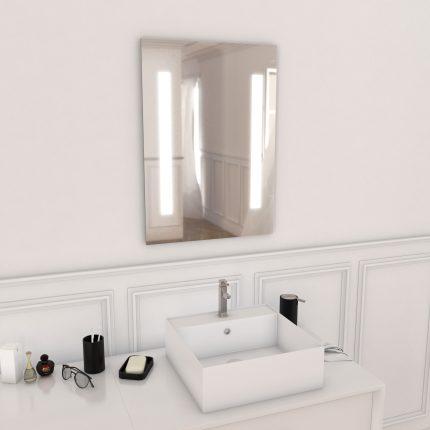 Miroir salle de bain LED auto-éclairant HIGHWAY 70x50cm