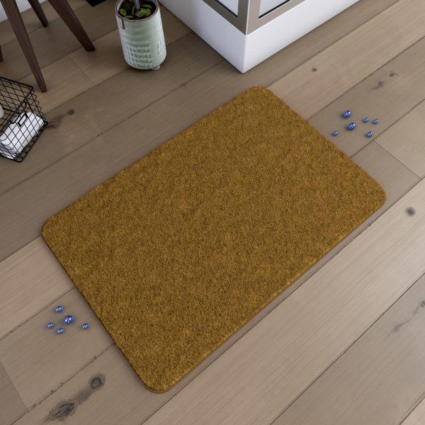Tapis de bain  60x90cm Antidérapant et en Microfibre - SUBTIL TAUPE