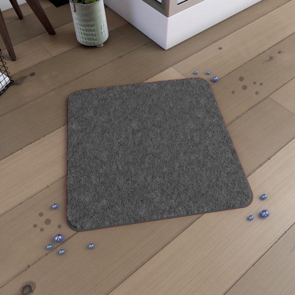 Tapis de bain 60x60cm Antidérapant et en Microfibre - SUBTIL GRIS