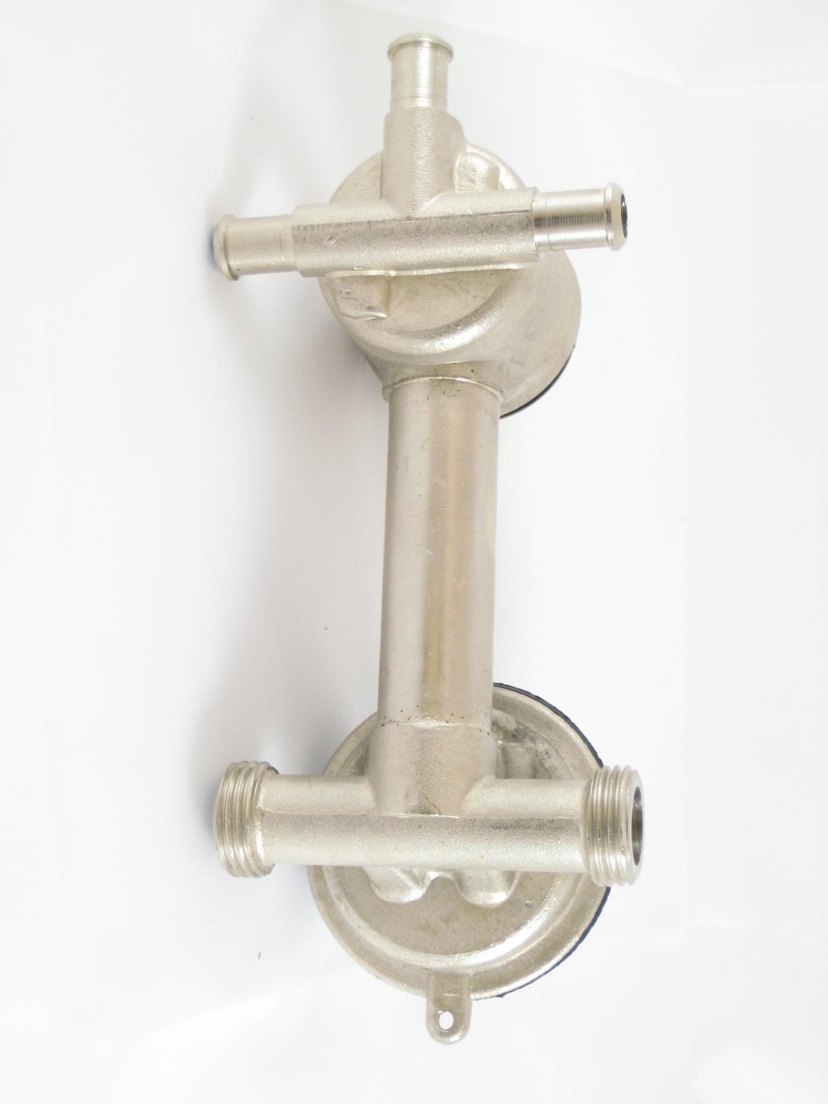 Robinet mitigeur douche mécanique avec inverseur 3 positions
