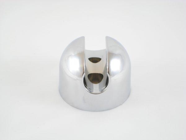 Support de douchette rond (entraxe 25mm)