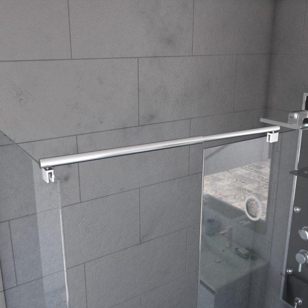 Barre de fixation - liaison - pour douche à l'italienne - FREEDOM 2 LINK - BARRE DE LIAISON