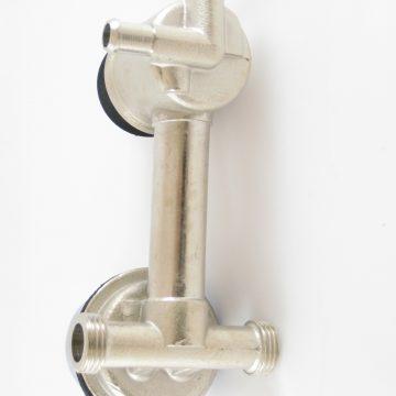 Robinet mitigeur douche mécanique avec inverseur 2 positions