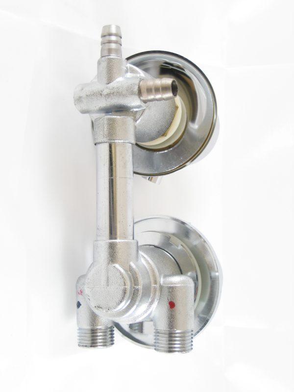 Robinet mitigeur douche thermostatique avec inverseur 2 positions