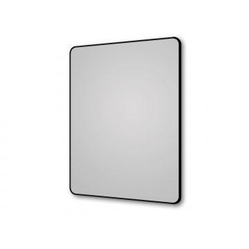 Miroir salle de bain rectangle 60x80cm - encadrement en aluminium - HOB 60
